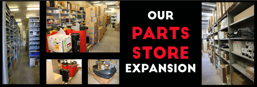 PARTS STORE EXPANSION IS HERE!!!