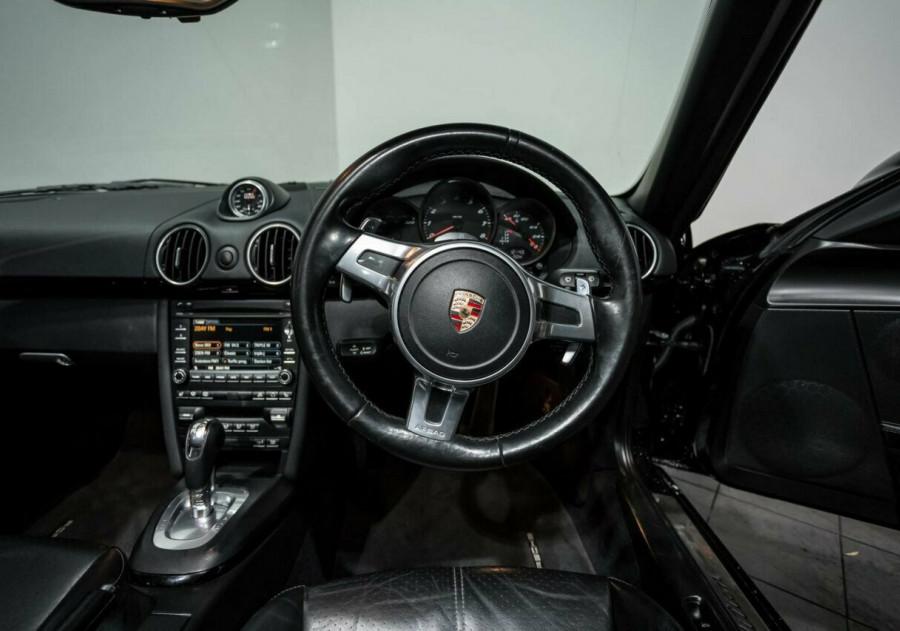 2011 Porsche Boxster 987 MY11 S PDK Black Edition Convertible