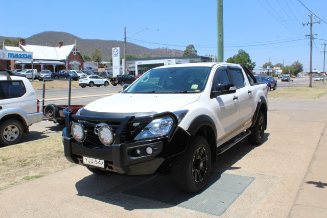 2019 Mazda BT-50 UR 4x4 3.2L Dual Cab Pickup Boss Cab chassis Mobile Image 3