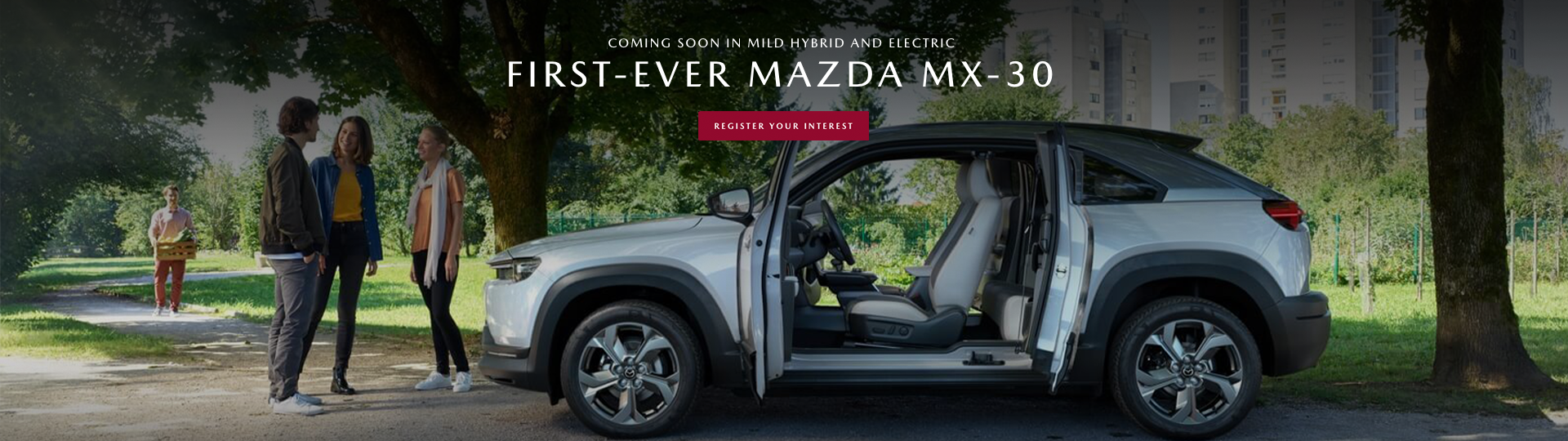 Coming Soon: First Ever Mazda MX-30, a uniquely Mazda experience