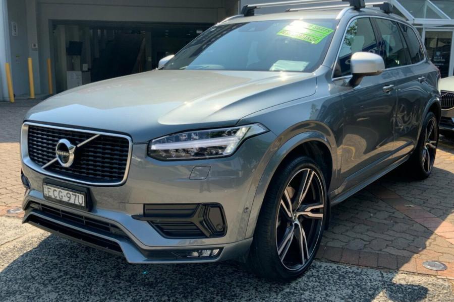 2018 MY19 Volvo XC90 256 MY19 D5 R-Design (AWD) Suv Mobile Image 7