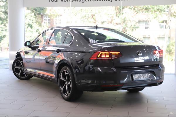 2020 MY21 Volkswagen Passat 140TSI Business 2.0LT/P 7Spd DSG Sedan Image 2