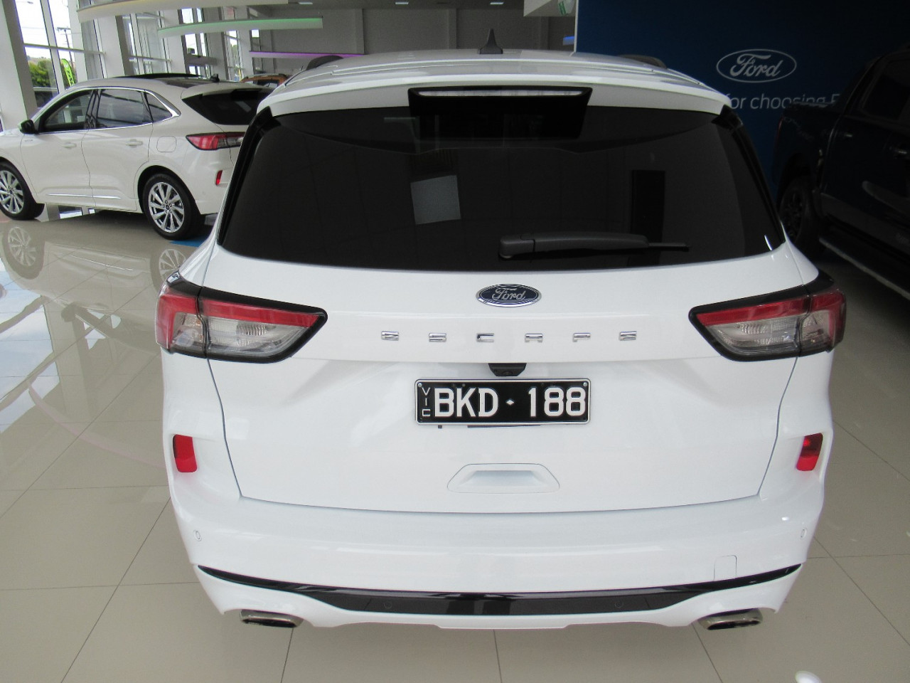 2020 MY20.75 Ford Escape ZH ST-Line Suv Image 5