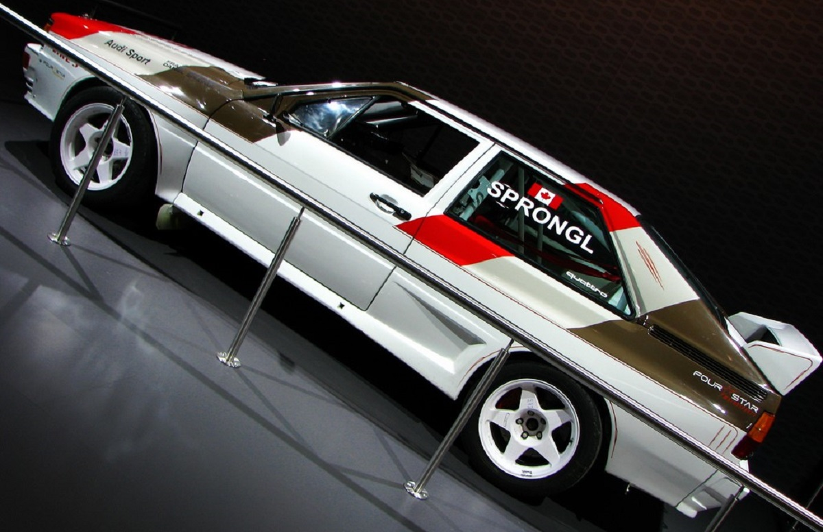 How the Audi Quattro 4WD changed history