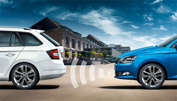Fabia Front Assist with City Emergency Brake