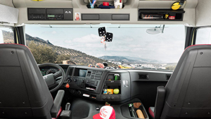 The new Volvo FMX Room for work.