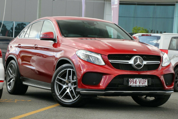 2015 Mercedes-Benz GLE350 C292 d Coupe 9G-Tronic 4MATIC Wagon