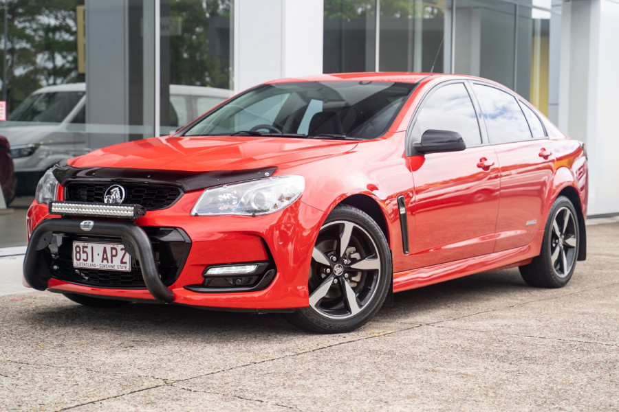 2016 Holden Commodore Black