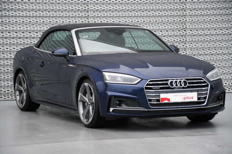 2019 Audi A5 F5 MY19 45 TFSI Cabriolet Image 1