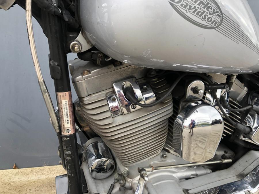 2002 Harley Davidson Softail FXST Standard Motorcycle Image 3