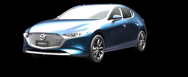 2020 Mazda 3 BP X20 Astina Hatch Hatchback Mobile Image 2
