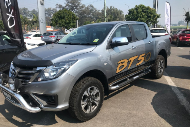 2018 MYch Mazda BT-50 UR 4x4 3.2L Dual Cab Pickup XTR Utility crew cab