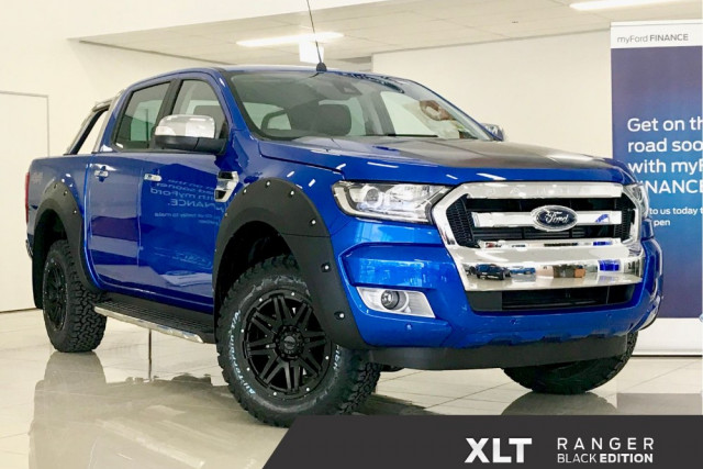 2018 Ford Ranger Px Mkii Black Edition Ute For Sale Q Ford