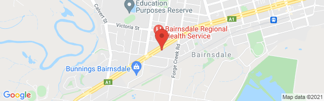 Bairnsdale MG - Coming Soon Map