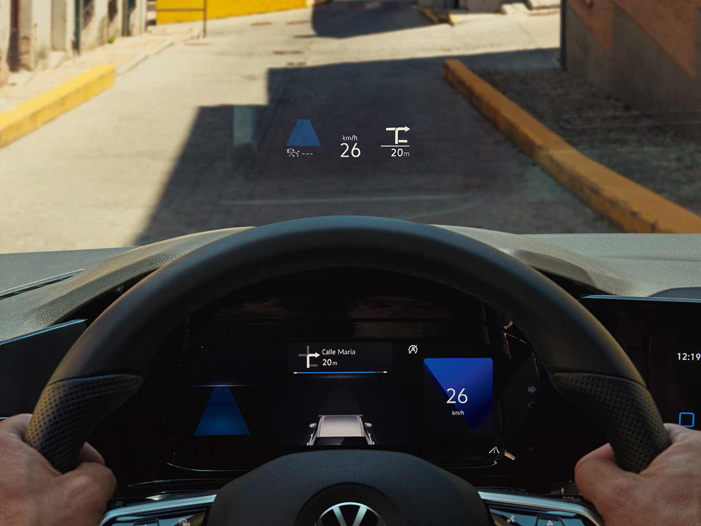 Lead the way Head-up display Image