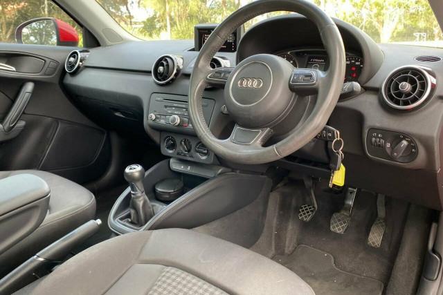 2011 Audi A1 8X 1.4 TFSI Attraction Hatchback