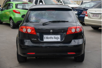 2007 Holden Viva JF MY08 Hatchback Image 4