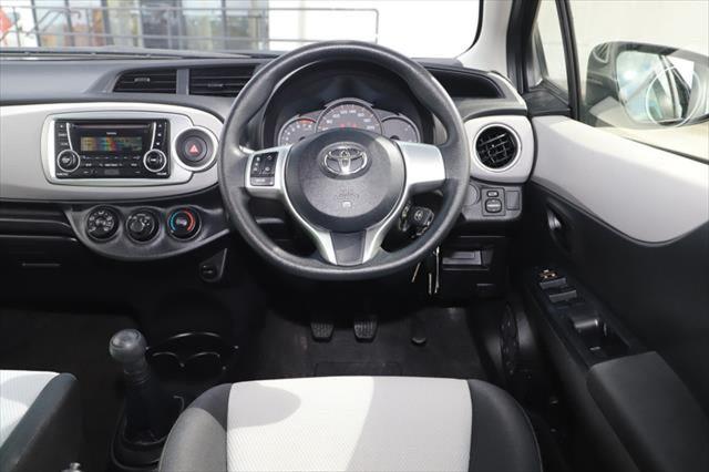 2014 Toyota Yaris NCP130R YR Hatchback Image 12