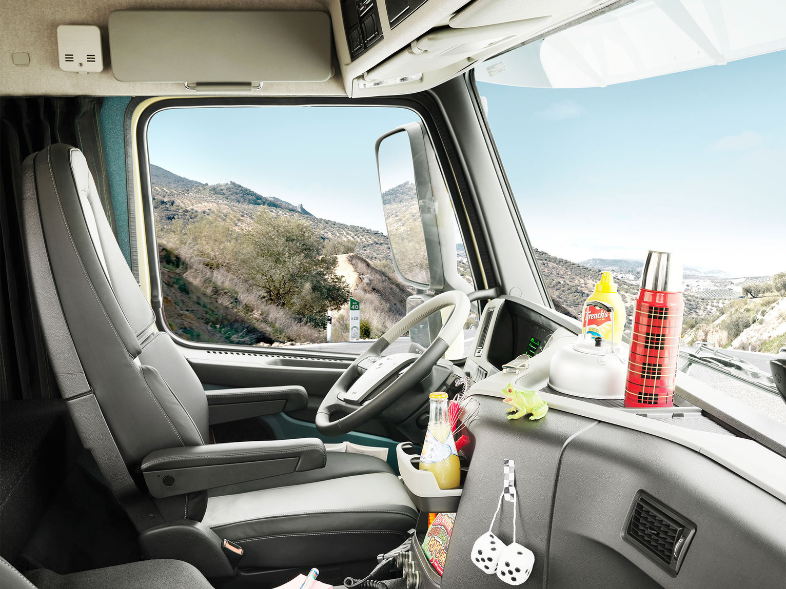The new Volvo FM Enter your comfort zone