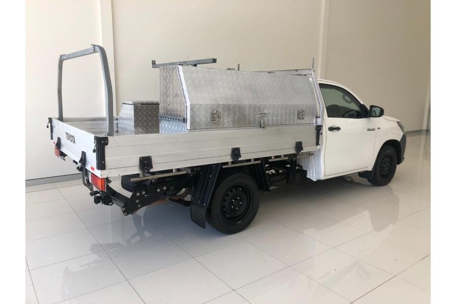 2015 Toyota HiLux TGN121R Workmate C/c single cab