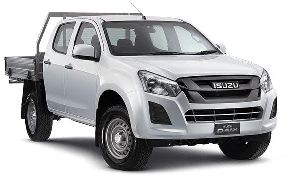 2020 MY19 Isuzu UTE D-MAX SX Crew Cab Chassis High-Ride 4x2 Crew cab