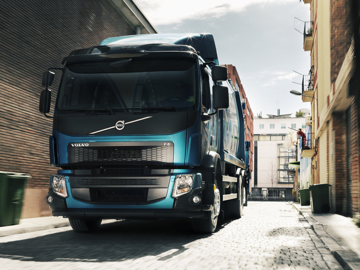 Volvo FE I-SHIFT - Geared for efficiency