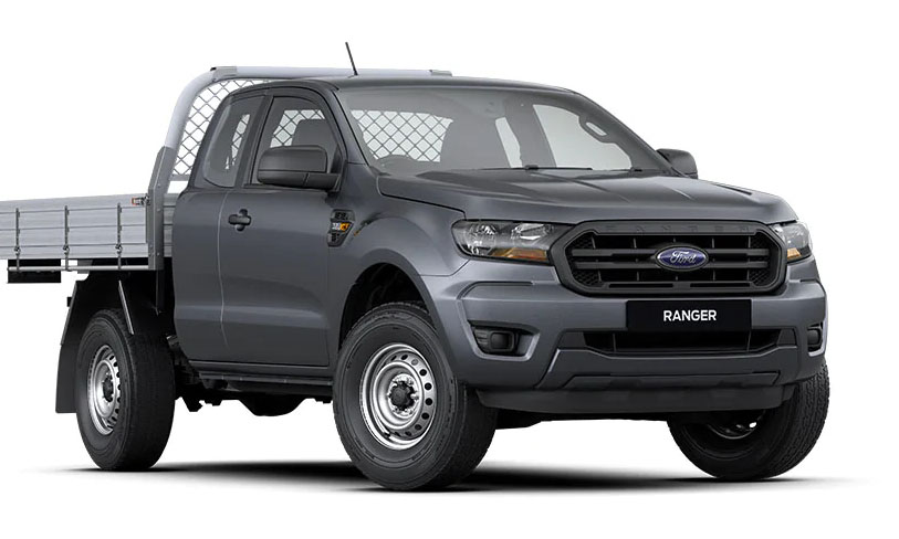 4x4 XL Single Cab Chassis