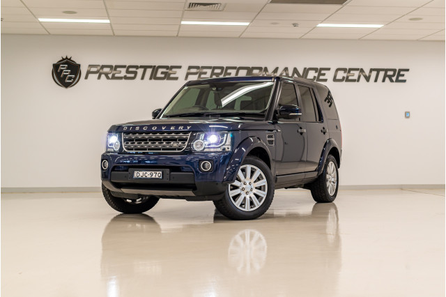 2016 MY16.5 Land Rover Discovery Series 4 TDV6 Suv