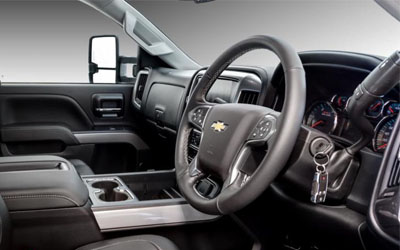 Silverado 2500HD LTZ Interior Features