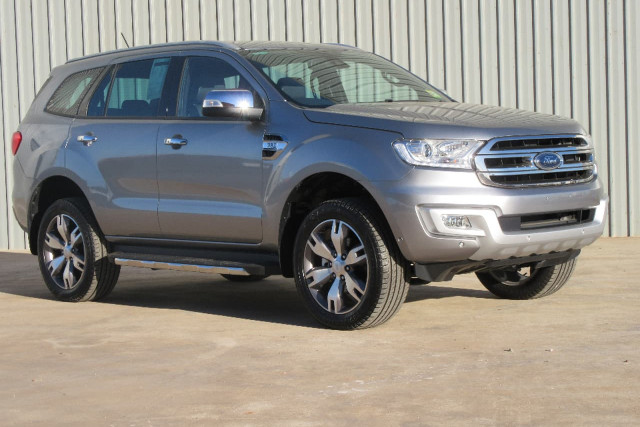 2017 Ford Everest UA Titanium Wagon