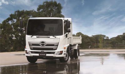 New Hino 500 Series Built to Go