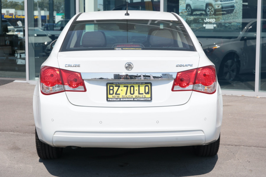 2013 Holden Cruze Vehicle Description. JH  II MY13 CD Sedan 4dr Man 5sp 1.8i CD Sedan Image 4