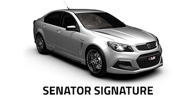 New HSV Senator Signature