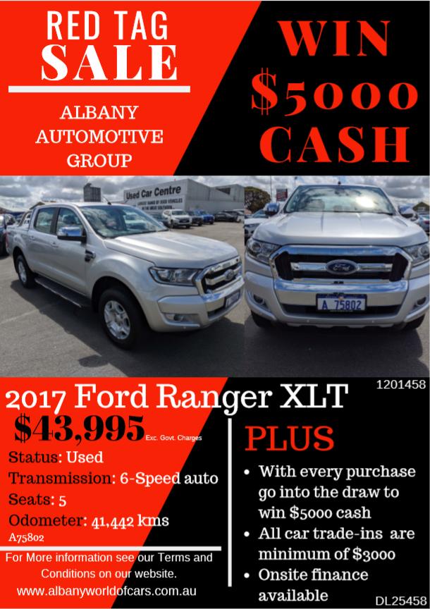 2017 Ford Ranger XLT