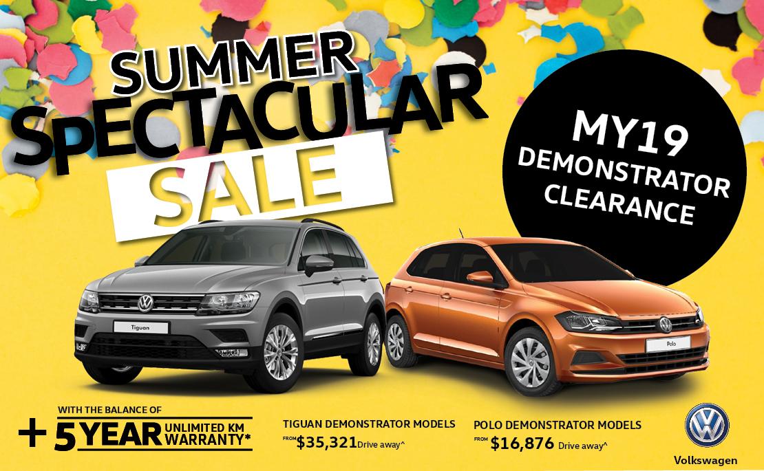 Summer Spectacular Sale