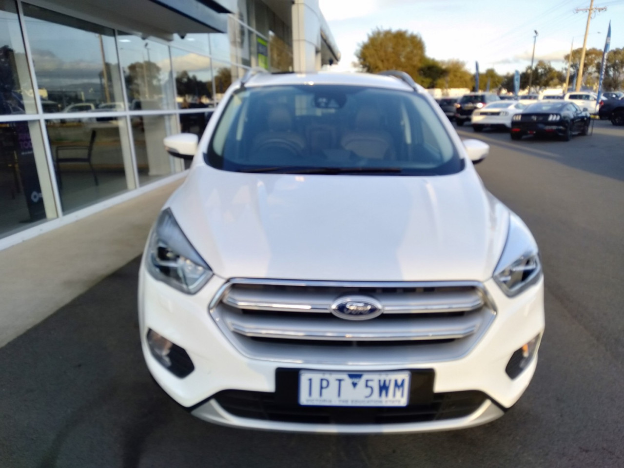 2018 MY18.75 Ford Escape ZG 2018.75MY TITANIUM Suv