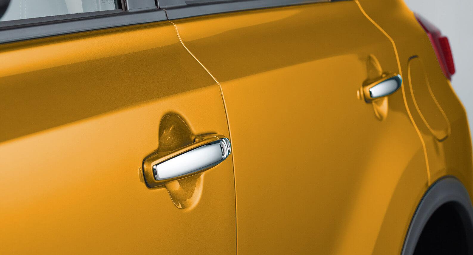 Door Handle Set - Chrome