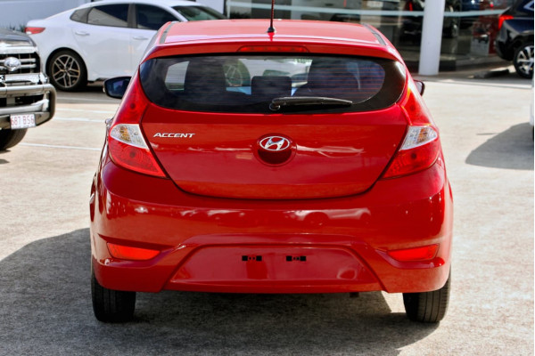 2015 Hyundai Accent RB3 MY16 Active Hatchback Image 5