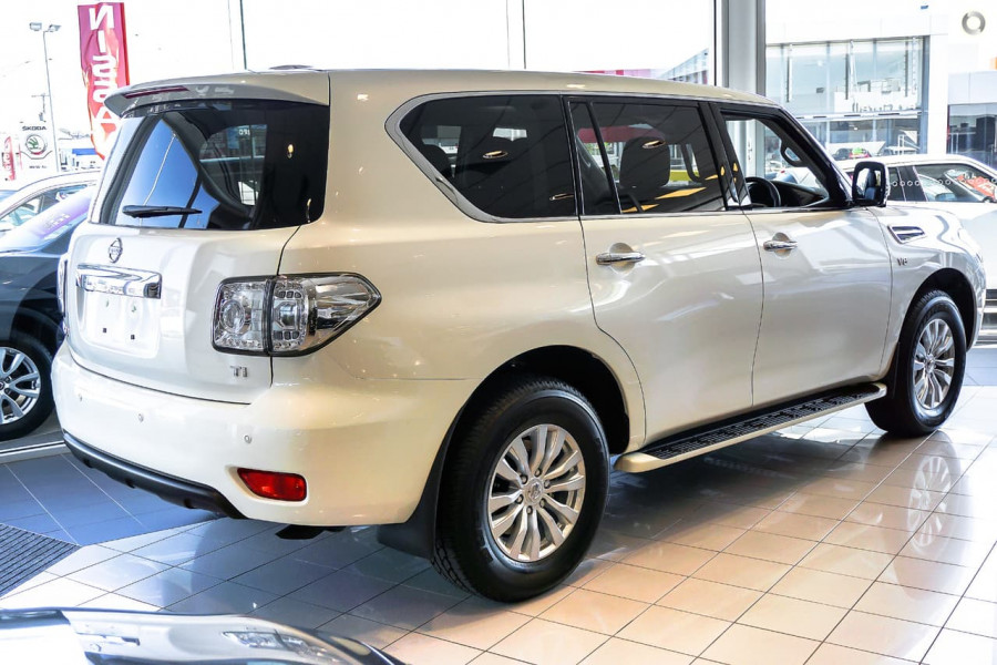 2017 MY18 Nissan Patrol Y62 Series 4 Ti Wagon