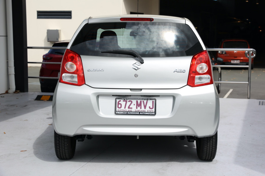 2009 Suzuki Alto GF GL Hatch Image 4