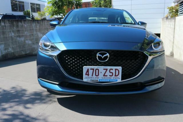 2020 Mazda 2 DL Series G15 Pure Sedan Sedan Image 3