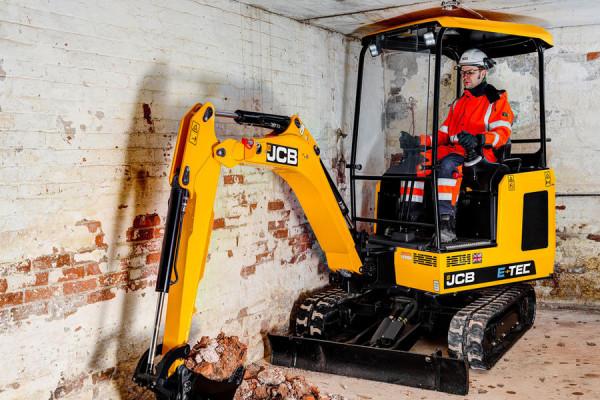 2021 JCB 19C-1E Electric Mini Excavator (No Series) 19C-1E Electric Mini Excavator