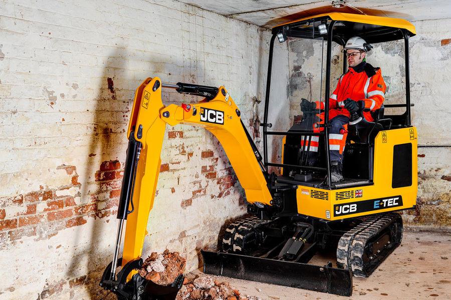 2021 JCB 19C-1E Electric Mini Excavator (No Series)