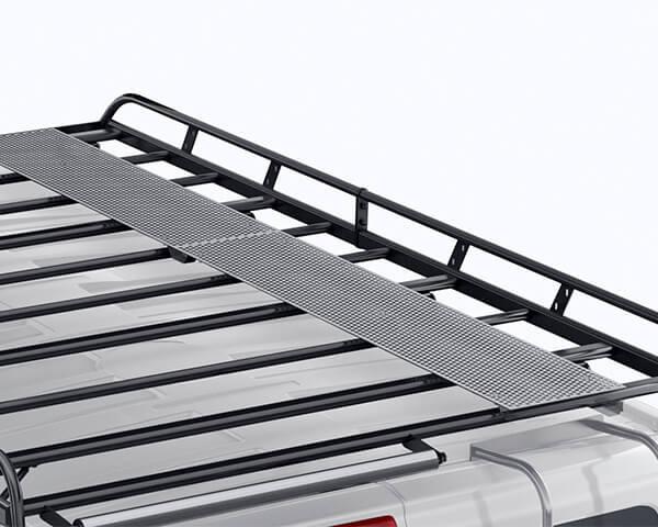 Steel Walkaway - Long Wheel Base with Barn Doors