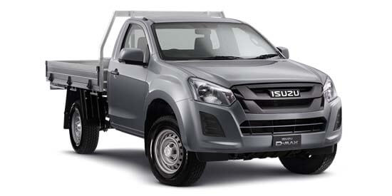 2018 Isuzu UTE D-MAX -- 4x2 SX Single Cab Chassis High-Ride Extra cab/chassis