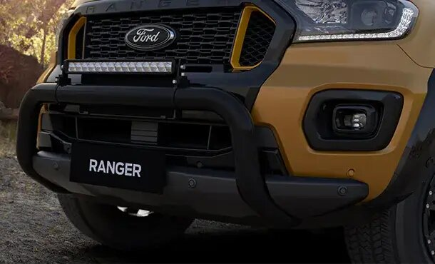 Ranger Wildtrak X Nudge Bar and LED Light Bar