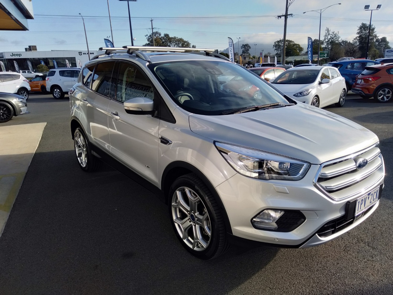 2019 MY19.25 Ford Escape ZG 2019.25MY TITANIUM Suv