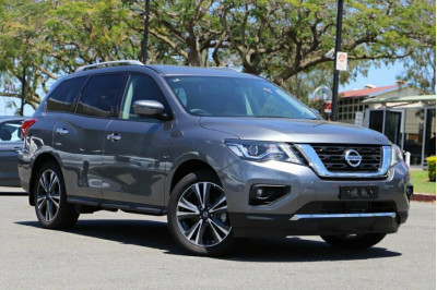 2020 Nissan Pathfinder R52 Series III MY19 Ti Suv Image 3