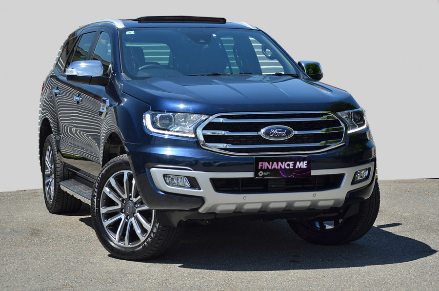 2020 MY20.25 Ford Everest UA II 2020.25MY TITANIUM Suv image 1