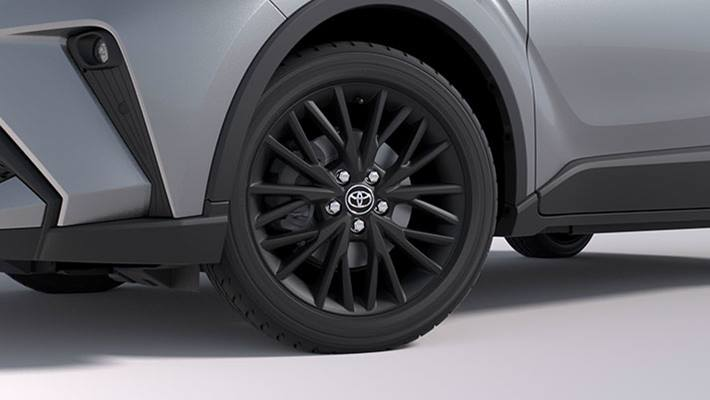 18 inch Alloy Wheels - Matte Black